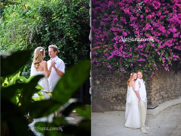 Real Weddings Clara And Joey Villas Caletas